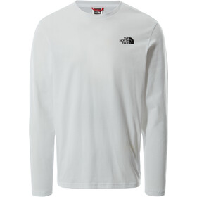 The North Face Easy Longsleeve T-Shirt Heren, TNF white/TNF black